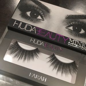Huda beauty mink lashes farah